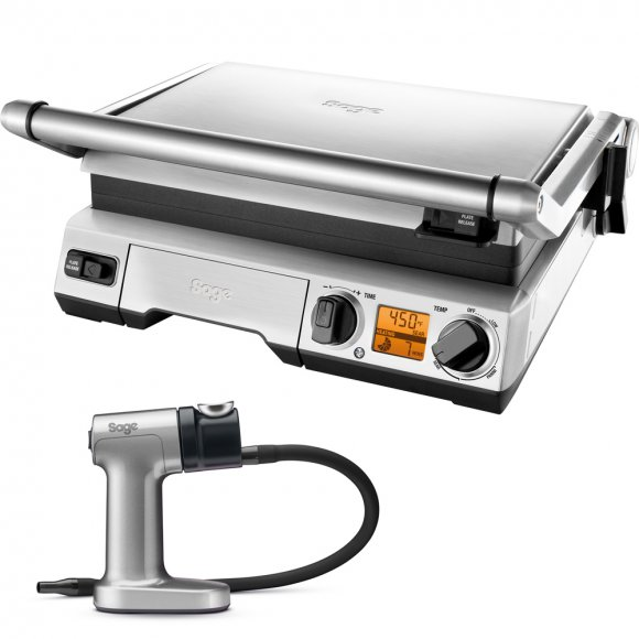 BGR820 Kontaktní gril SAGE + Smoking GUN Sage BSM600