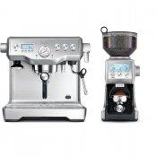 Espresso SAGE BES920 + Mlýnek na kávu SAGE BCG820BSS