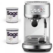 Espresso SAGE SES500BSS + Zdarma 2 balení Zrnkové kávy