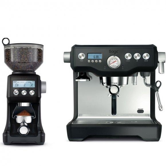 Espresso Black Truffle SAGE BES920BTR +    BCG820BTR Mlýnek na kávu Black Truf SAGE