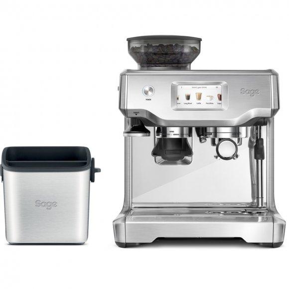 Espresso SAGE SES880BSS + Odklepávač BES100